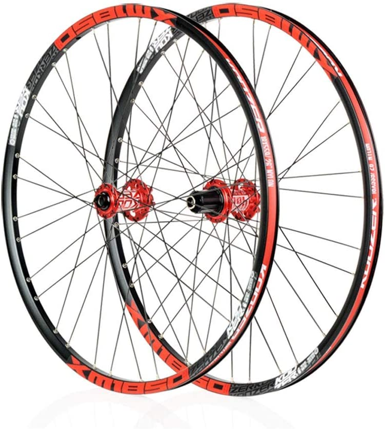 Bike Wheel MTB de Ruedas de trinquete con Fuerza magnética MTB Hub 26/27,5/29 Pulgadas de liberación rápida
