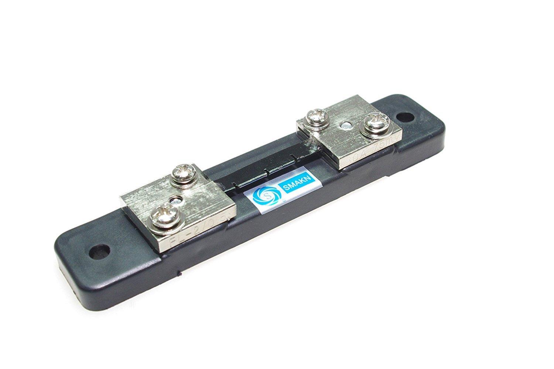SMAKN® Metal Shunt Resistor for DC 30A 75mV Current Ammeter Analog Panel Meter