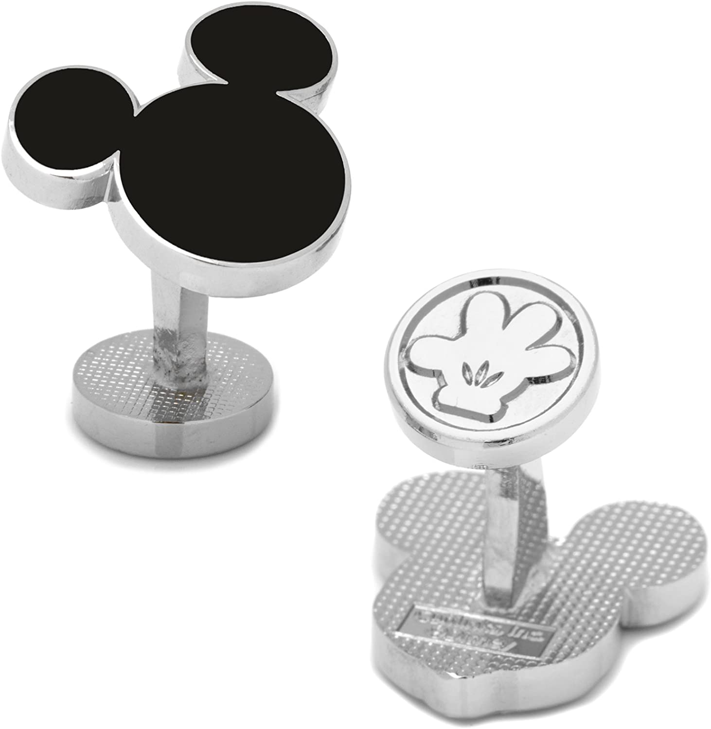 Disney Mickey Mouse Silhouette Cufflinks, Officially Licensed