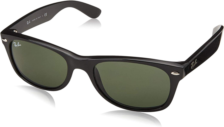 Ray-Ban Montures de lunettes Mixte Couleur de Monture: Noir/Verres:vert(polarized Green Classic G-15)