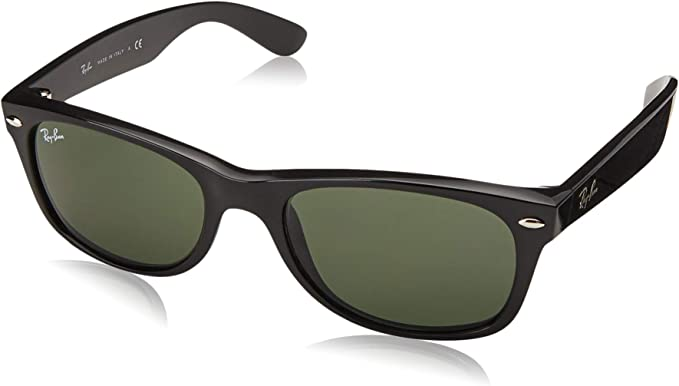 Ray-Ban New Wayfarer Gafas de sol, Black, 58 para Hombre: Amazon ...