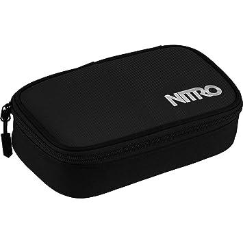 Faulenzer Box Nitro Pencil Case XL inkl Geo Dreieick /& Stundenplan Stifte Etui Pirate Black Schlamperm/äppchen Federmappe Federm/äppchen