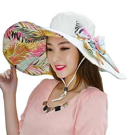 Sombreros Sombreros para El Sol Mujer Desmontable Empacable ...