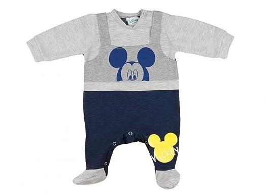 Baby Mickey Angebot 2 für Boys 2 Langarmshirts+ 2 Hosen mit Füsschen
