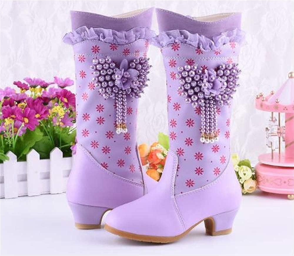 Boys Girls Classic Waterproof Outdoor Winter Snow Boots