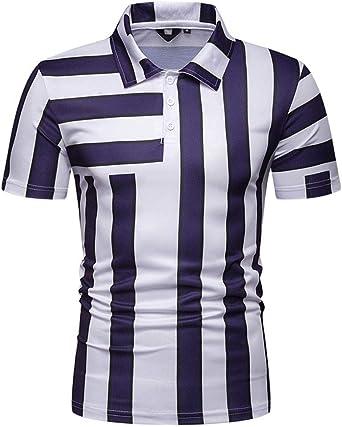 Camisetas Hombre Poloshirt Elegante Moda Verano Polo Camisa ...