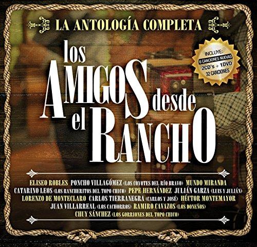 (LOS AMIGOS DESDE EL RANCHO 2CD's + 1DVD 32 CANCIONES (Import)