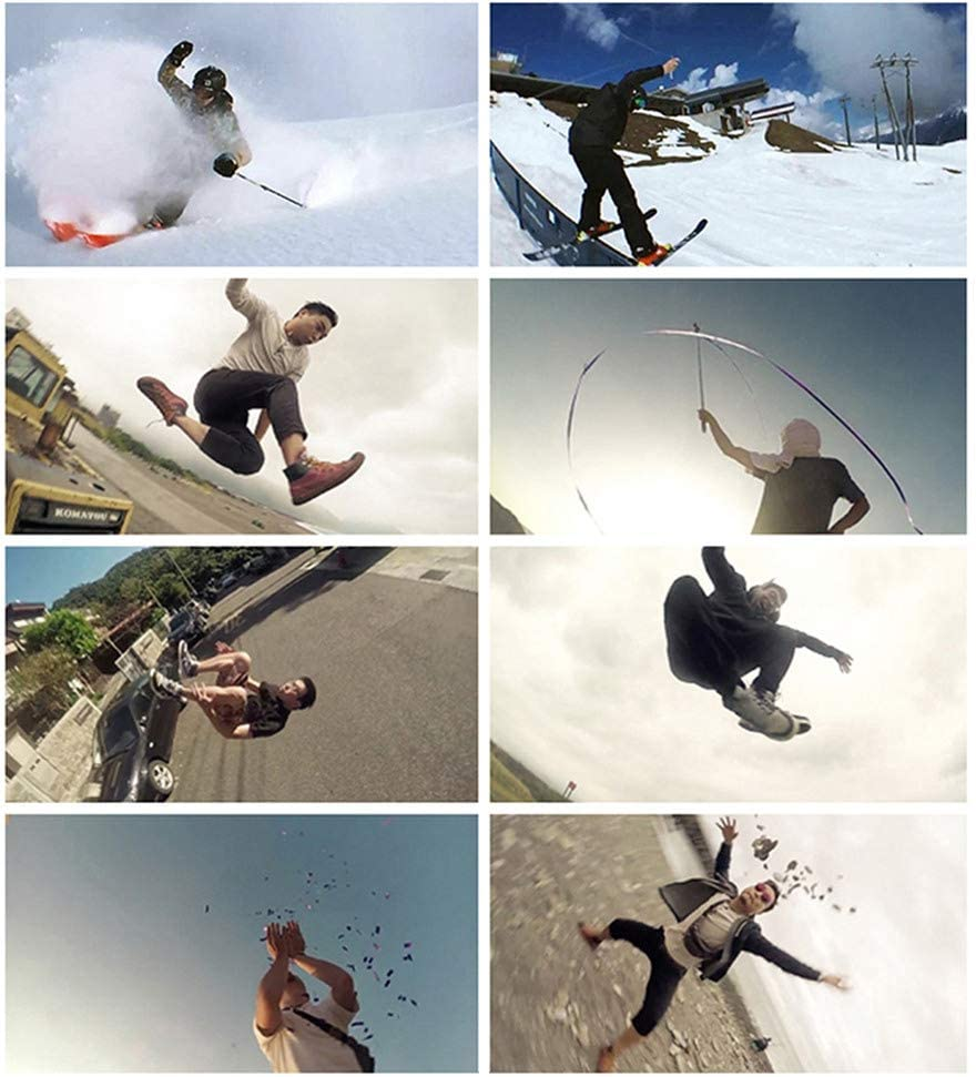 Video Photo Shooting Flying Fish Bullet Time Accessories Set Meijunter Bullet Time Rotation Rope Kit for Insta360 One//One X