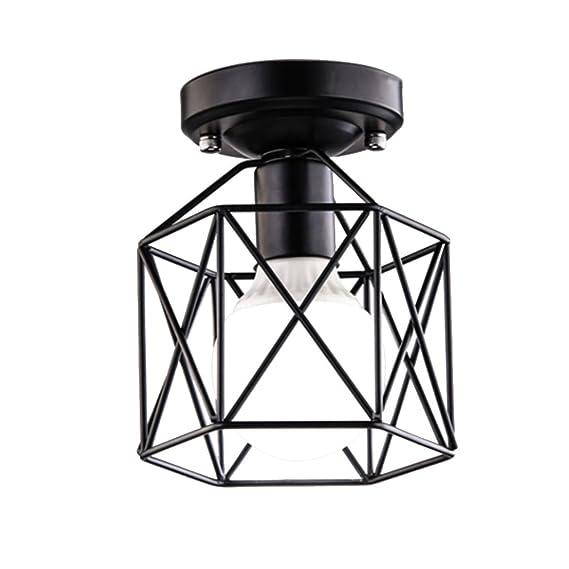 BAYCHEER Vintage lámpara colgante techo la Industria araña ...