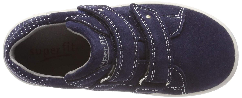 Superfit Baby M/ädchen Starlight Sneaker 19 EU Blau 80