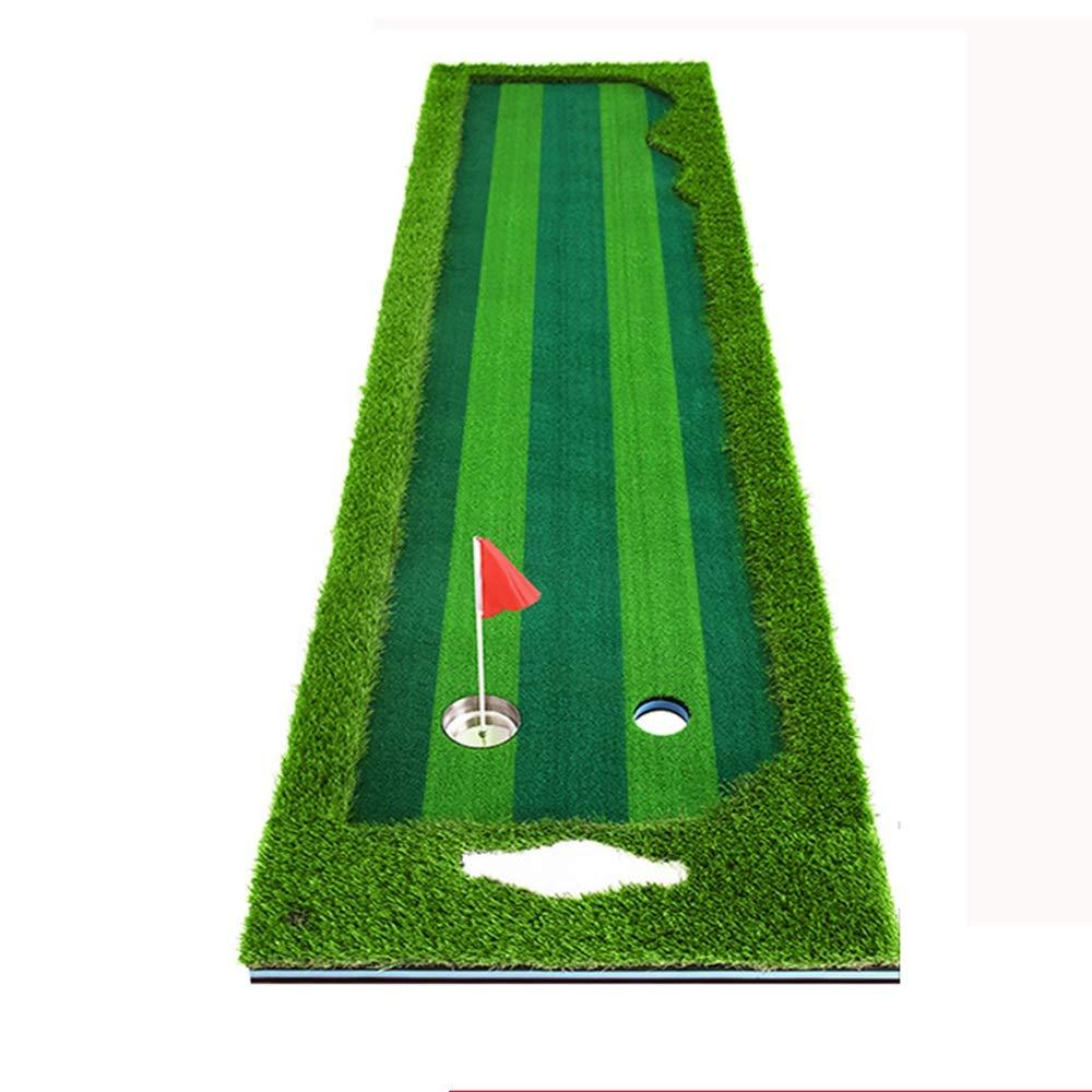 室内ゴルフコースグリーンパッティング練習 自宅 オフィス 練習用ブランケット