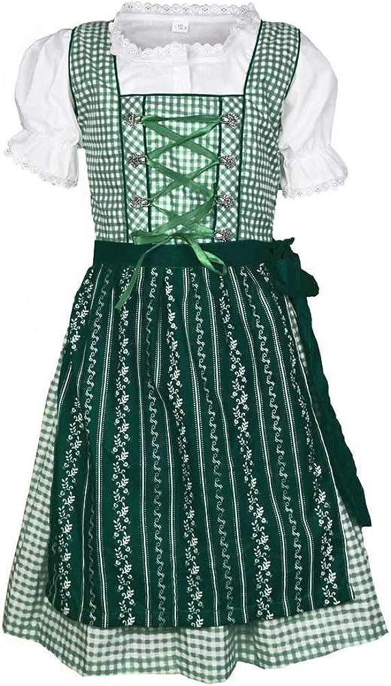 MS-Trachten Kinder Dirndl Trachtenkleid Klara 3 teilig
