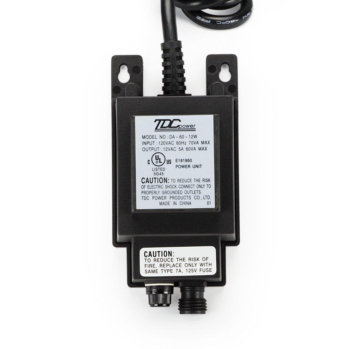 6W Aquascape 98375 Garden /& Pond Manual Quick-Connect 12V Transformer