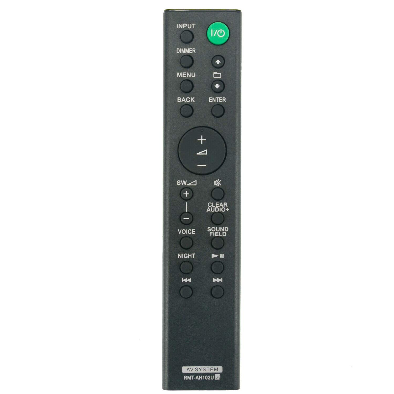 RMT-AH102U RMTAH102U リモートコントロール ソニーサウンドバースピーカーシステム&ホームシアターシステム HT-XT100 HTXT100 (1-492-933-11) (149293311) 対応 B07QWRX8RG