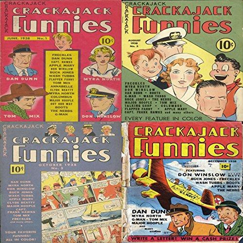 crackerjack-funnies-issues-1-3-5-and-7-dan-dunn-myra-north-tom-mix-don-winslow-buck-jones-apple-mary