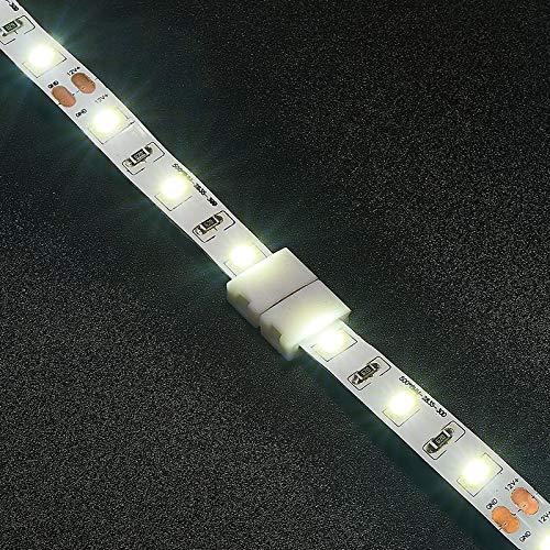 Gimax 1000pcs 2 Pin 4 Pin 5 Pin Connectors 8mm 10mm 12mm No Soldering For 3528 2835 5050 RGB RGBW RGBWW LED Strip Lights - (Color: 4 pin 10mm, Connector Type: Panel Connector) by GIMAX (Image #7)