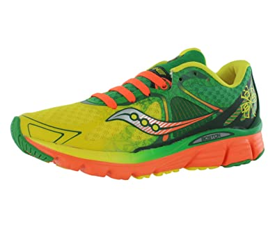 Saucony Kinvara 6 Yellow/Green/Orange Men's 7