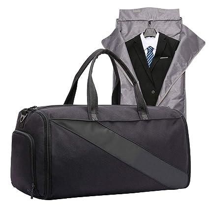 Amazon.com: ZXC Bolsa de traje de una pieza, ligera ...