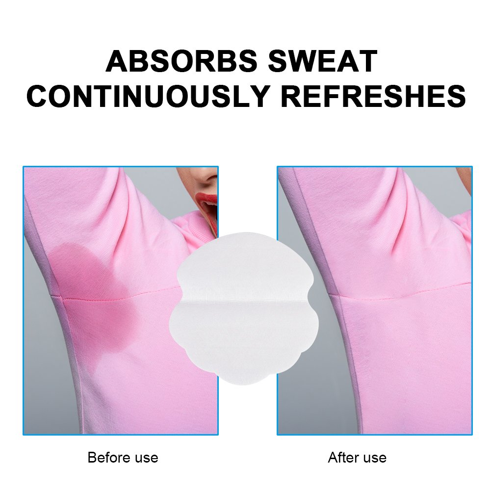 axilas sudor Pads Antebrazo Sweat Pads contra el sudor manchas y olores 20pcs: Amazon.es: Salud y cuidado personal