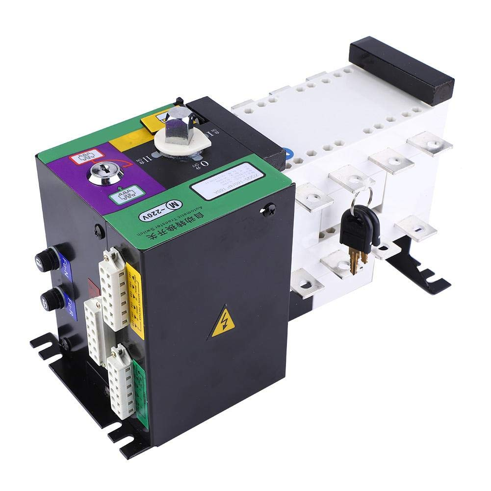 Dual Power Automatic Transfer Switch 160A 4P 400V Toggle Switch Isolation Type Dual Transfer Switch by YWBL-WH