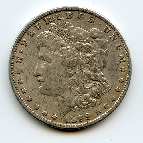 1899 O Morgan Silver Dollar $1.00 AU-50