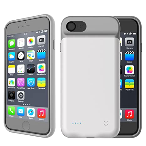 Batería Funda iPhone 7 Plus / iPhone 8 Plus Carcasa ...