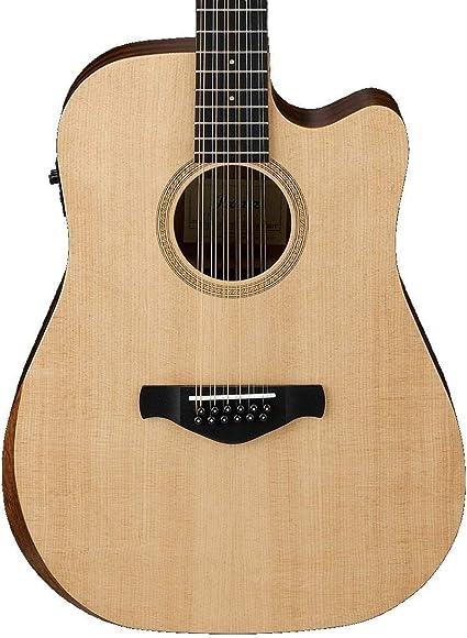 Ibanez AW152CE Artwood Guitarra acústica eléctrica de 12 cuerdas ...