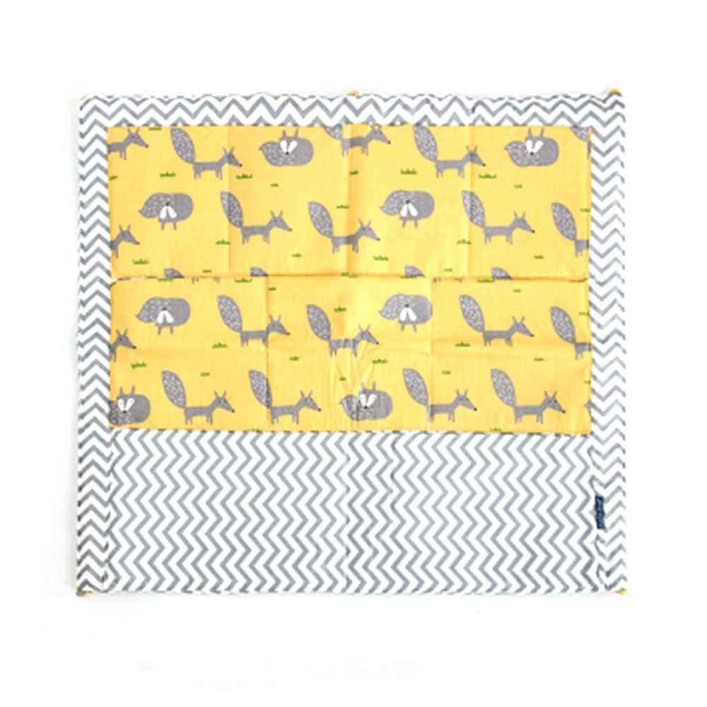 FS Baby Crib Nursery Diaper Bag Storage Stacker Hanging Organizer With 9 Pockets Baby Room Decor (Animal)