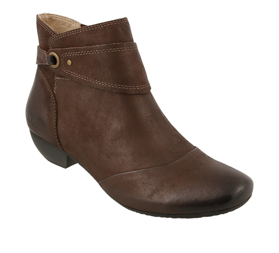 Taos Footwear Women's Image Leather Boot B01NAQ8VUH 7.5 M US|Chocolate Oiled