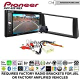 Pioneeer AVIC-6201NEX Double Din Radio Install Kit with GPS Navigation Apple CarPlay Android Auto Fits 2002-2006 Toyota Camry with Amplified System
