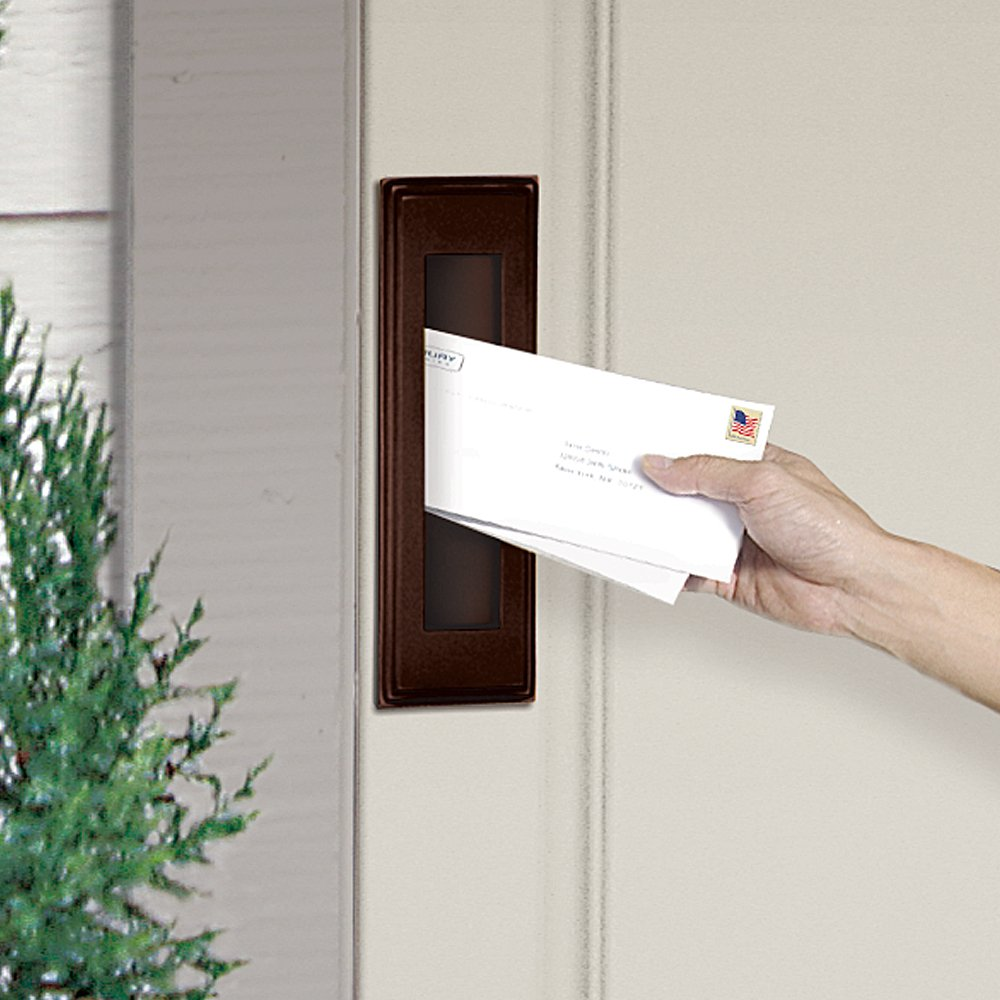 Salsbury Industries 4085A Mail Slot, Vertical/Antique Finish