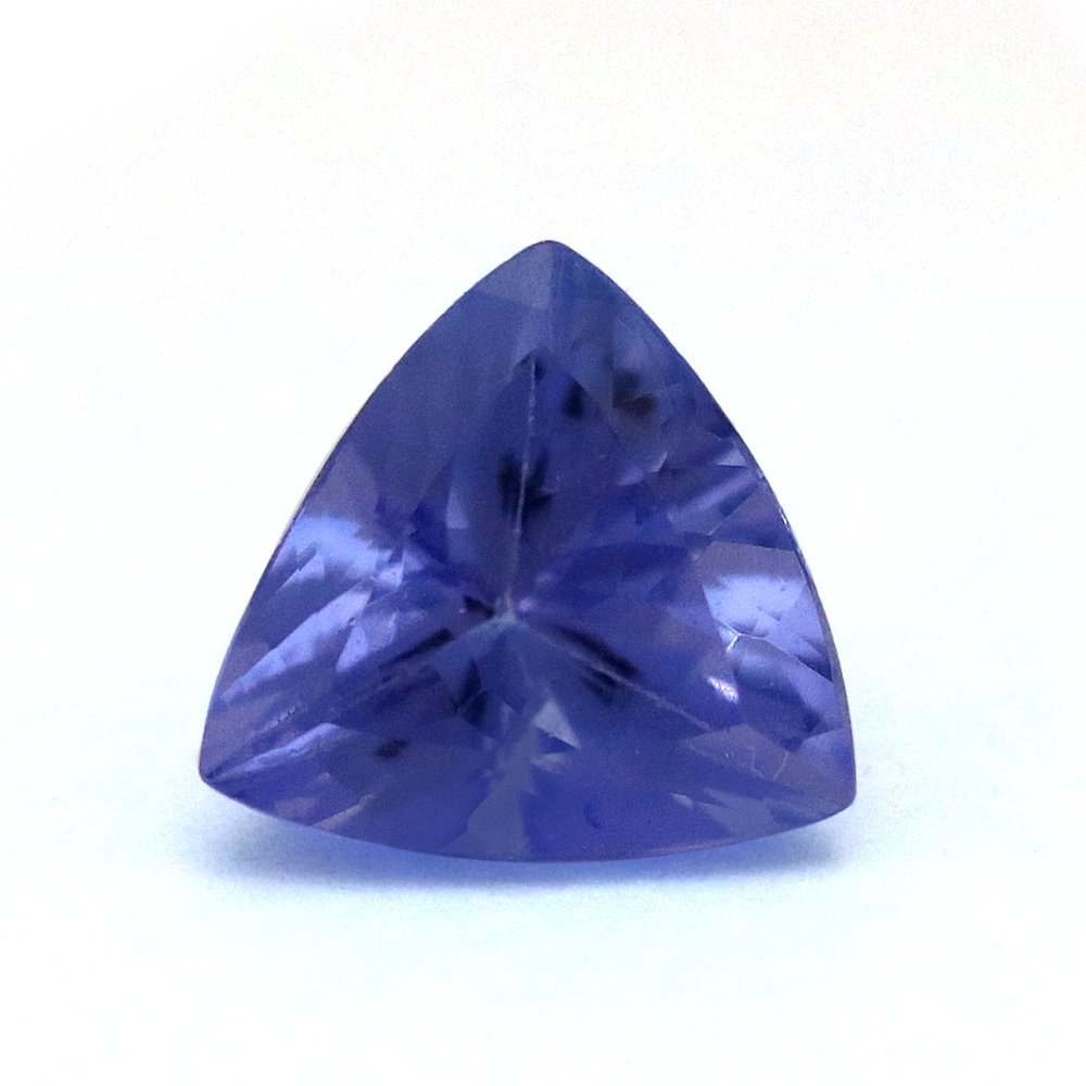 100%Natural 1.23 Carats TCW Trillion Tanzanite Fine Quality Gem By DVG
