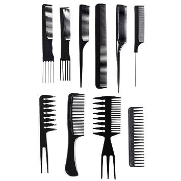 Amazon.com  10 Pcs Professional Styling Comb Set Salon