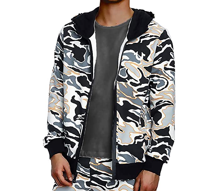 52d114239 True Religion Mens Camo Print Hoodie  Amazon.co.uk  Clothing