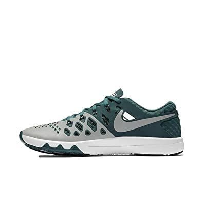 new styles 2f578 25708 Nike Mens Train Speed 4 AMP NFL Training Sneaker, Argent Moyer Medium  Silver,