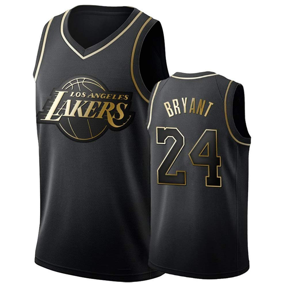 DCE Men's Jersey Kobe Bryant NO. 24 Los Angeles Lakers Summer ...