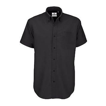 B&C Oxford Herren Hemd, Kurzarm
