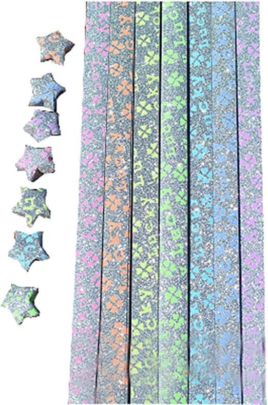 Glow in the Dark Lucky Star Origami Paper Strips – The Hodge-Poshery | 781x522