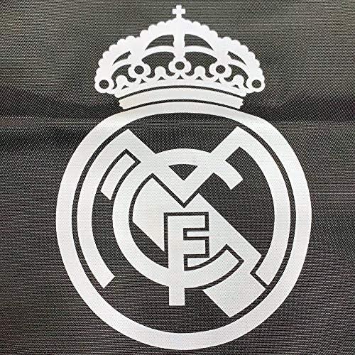 Saco Real Madrid 43 Cm Negro Con Escudo Blanco Amazon Es Equipaje
