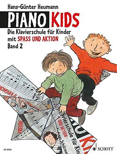 Piano Kids 2: Die Klavierschule für Kinder mit Spaß und Aktion (Alemán) Tapa blanda – 1 nov 2014 Hans-Günter Heumann Schott Music 3795751632 Musique