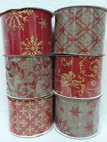 Assorted Patterns Classic Christmas Decorations