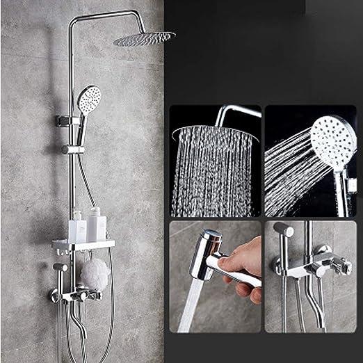 Juego de ducha inteligente con control de temperatura, ducha de ...