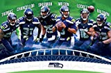 "Trends International Seattle Seahawks Team Wall Poster 22.375"" x 34"""