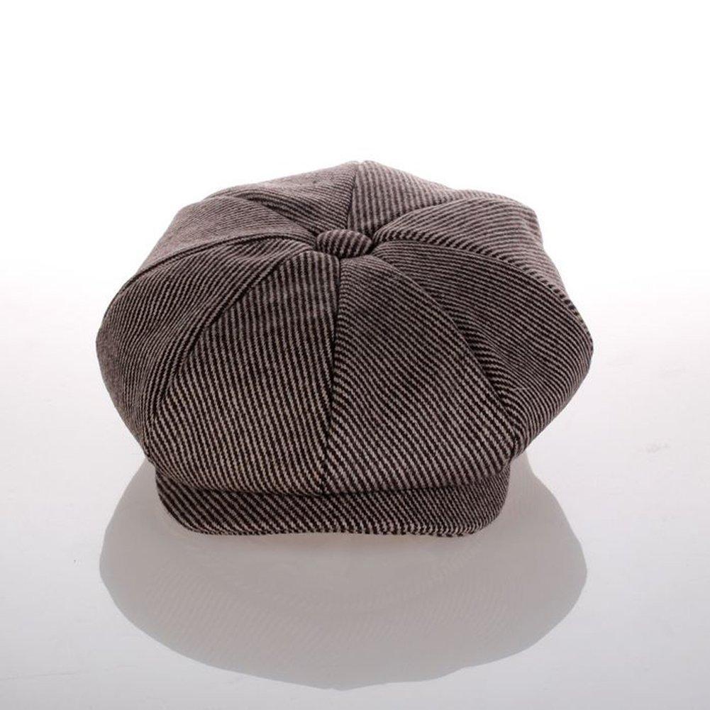 elwow Hombres tejido de mezcla de lana de alta calidad octogonal de ... bad0e528592