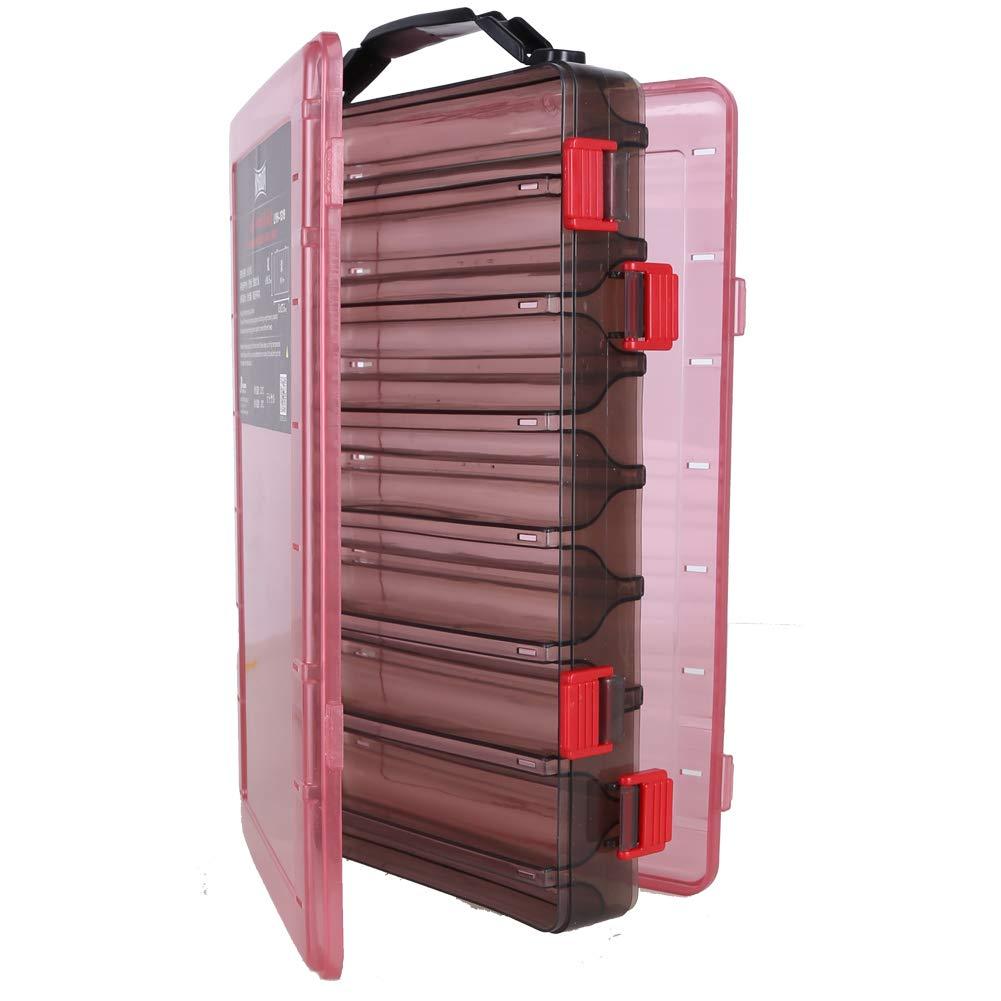Kingdom Tackle Boxes, 1 Pack/ 3 Packs Fishing Storage Box (SL) by Kingdom