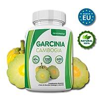 Garcinia Cambogia, 100% extrait pur de Garcinia Cambogia avec 60% de HCA, 120 gélules, suppresseur naturel d'appétit et brûleur de graisse naturel, enrichi avec du Zinc et du Chrome, perte de poids.