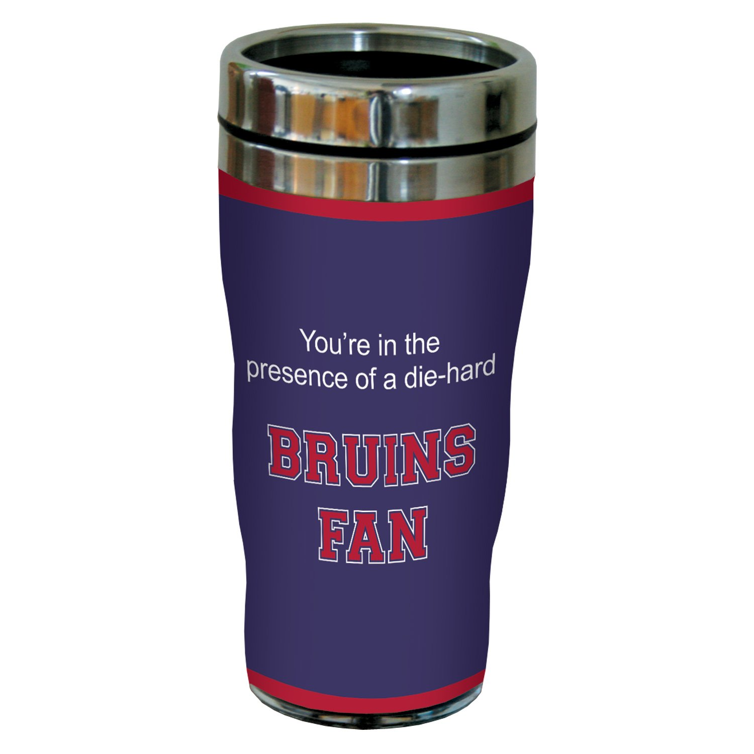 Tree-Free Greetings sg24639 Bruins College Basketball Sip 'N Go Stainless Steel Lined Travel Tumbler, 16 Ounce