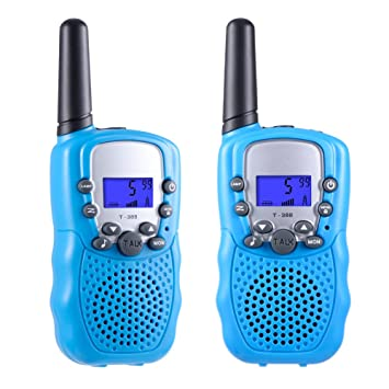 Toys For 3 12 Year Old Boys And Girls Teen Birthday Gifts Selieve Walkie Talkies Kids Youth 1 Pair Blue