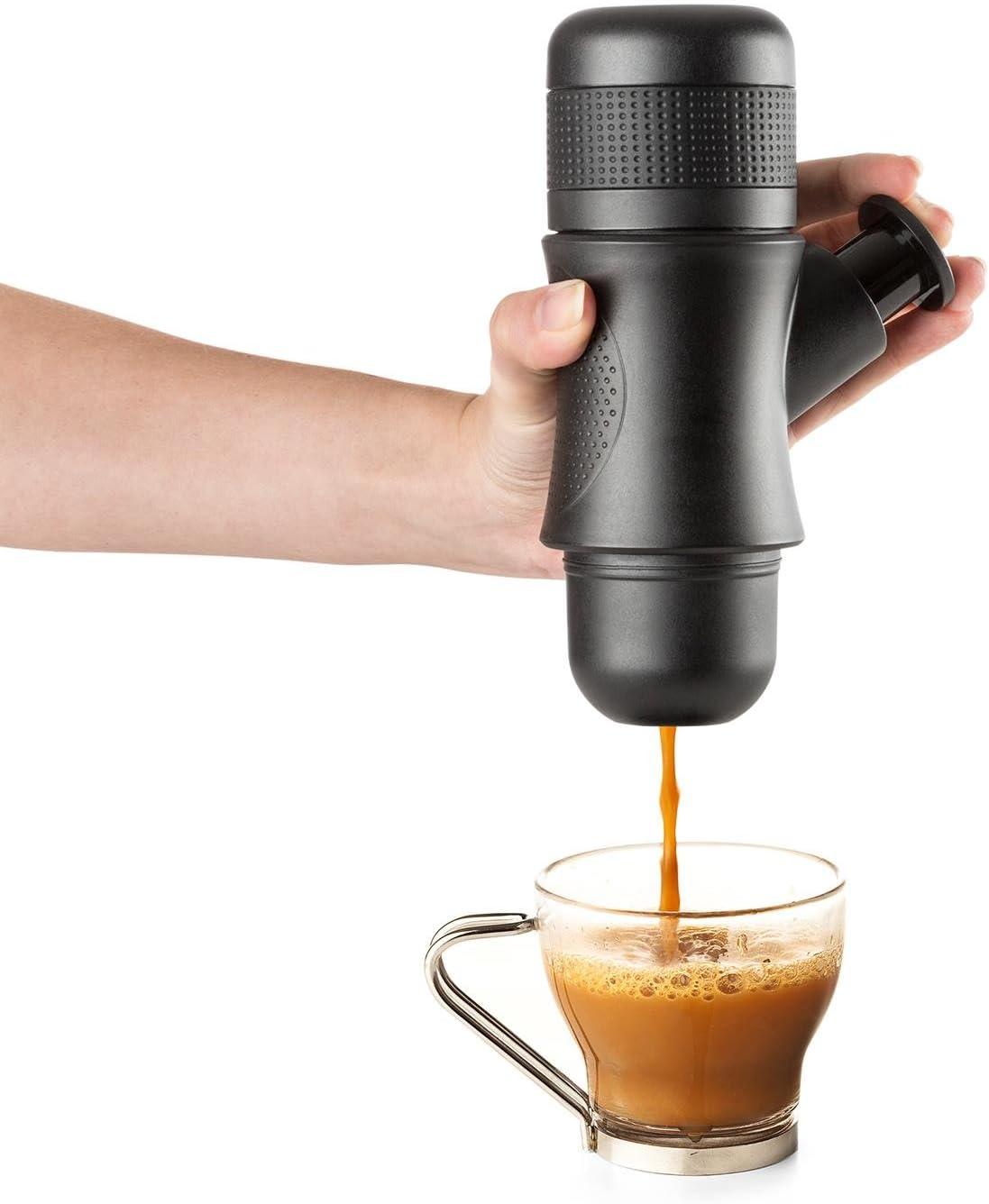 KLARSTEIN myPresso Minicafetera Espresso portátil (no Requiere ...