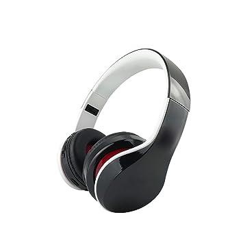 Bluetooth Deportes Auriculares, Auricular estéreo Bilateral Plegable Auriculares inalámbricos para PS4 Xbox One Ordenador portátil